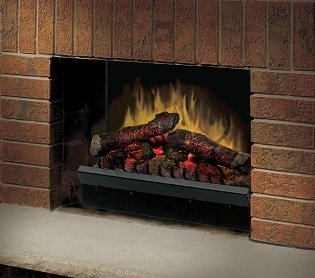"DIMPLEX 25"" Deluxe Electric Fireplace insert"