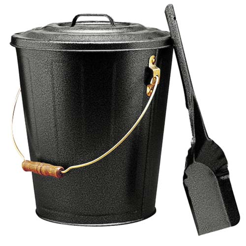 ~Ash Bucket with Shovel