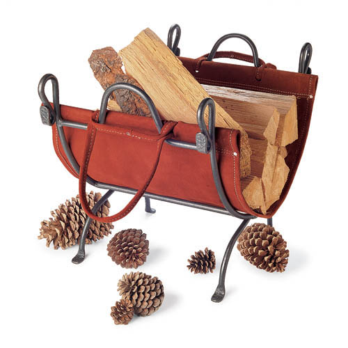 ~Folding Log Carrier with Stand