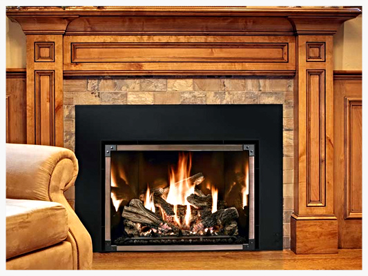 Marvelous A Mendota Fv41 Arch Hearth Products Great American Home Interior And Landscaping Ologienasavecom